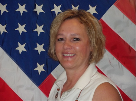 Treasurer Bev Noffke